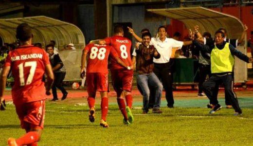 Lumat Persela Lamongan 4-0, Semen Padang Bercokol di Urutan Kedua Klasemen Sementara TSC