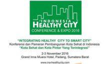 Pertemuan Kota Sehat Indonesia, Padang Tuan Rumah IHCC 2016