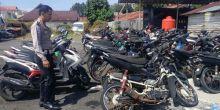 119 Motor dan Mobil Tak Dijemput Pemiliknya dari Polres Kota Pariaman, Ada yang Sudah 5 Tahun