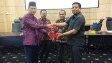 Perkuat Ranperda, Pansus II DPRD Sijunjung Sambangi Pemko Padang