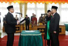Walikota Padang Panjang Lantik Sekda Defenitif