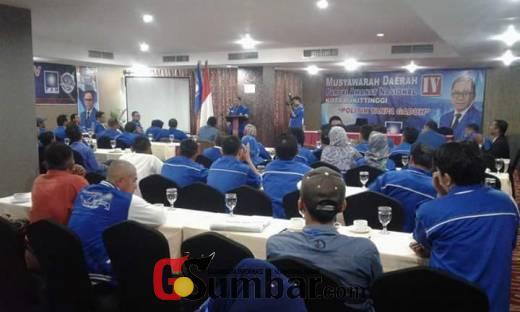 Bersaing, Musda ke IV PAN Bukittinggi Siapkan 4 Orang Formatur Sebagai Calon Ketua DPD