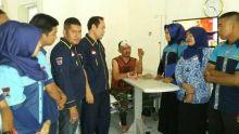 Terluka, Tentara Penantang Copet di Kota Padang Dapat Simpatisan dan Kunjungan Berbagai Pihak
