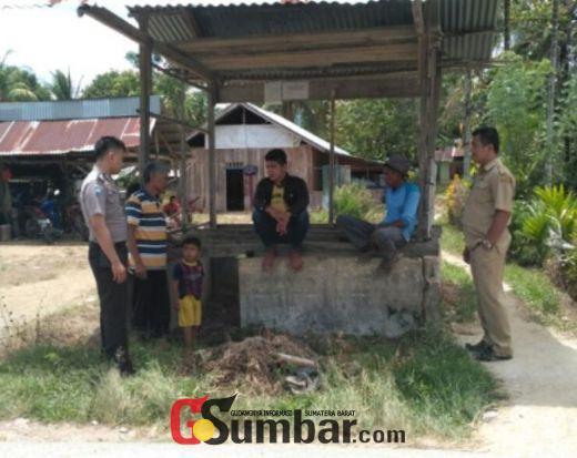 Bangun Sistem Keamanan, Nagari Gaung Kabupaten Solok Kembali Aktifkan Pos Kamling