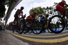 Pembalap Tanah Air Aiman Cahyadi Rebut Dua Jersey pada Etape Kedua