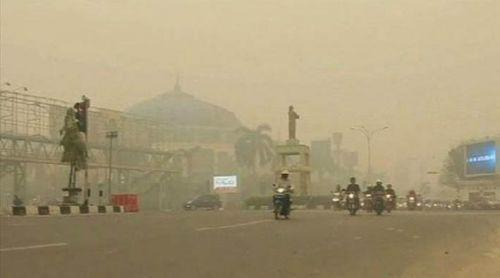Sungguh Memalukan, Indonesia Gagal Atasi Kabut Asap, Pemuda Muhammadiyah Riau Ngadu ke PM Malaysia Minta Bantuan