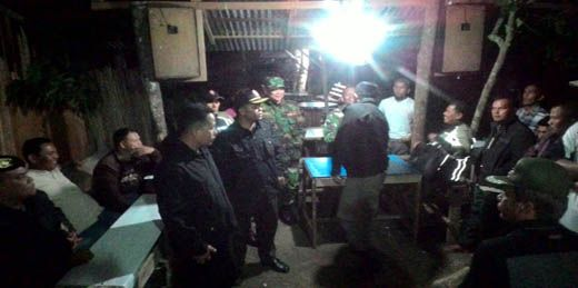 Tim 7 Payakumbuh Tutup Paksa Kedai Tuak di Talang