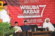 Ponpes Daarul Quran Wisuda Para Hafiz, Walikota Mahyeldi: Padang Menuju Kota Penghafal Quran
