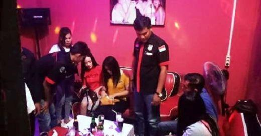 Polres Sijunjung Razia Tempat Hiburan Malam, Tak Ditemukan Narkoba