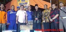 Bantuan Rendang Sudah Sampai di Lampung, Langsung Diserahkan Wagub Sumbar