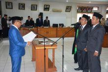 Dua Anggota PAW DPRD Tanah Datar Dilantik