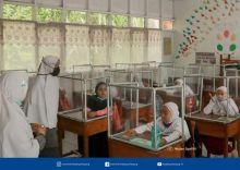 Selama PBM Tatap Muka Dilaksanakan, Pendidik dan Peserta Didik di Bukittinggi Tetap Taati Prokes