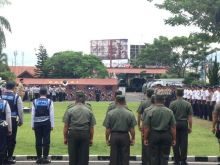HUT ke-35, Satpam Banyak Bantu Polri Dalam Pengamanan di Kota Padang