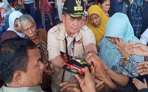 700 Kilogram Rendang dari Sumbar Dibagikan untuk Korban Tsunami Banten