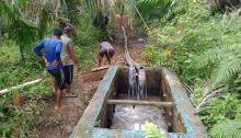 Masyarakat Jorong Sopo Bawak Nagari Sungai Aur Akhirnya Bisa Nikmati Air Bersih